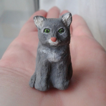 Meghan the Cat Sculpture