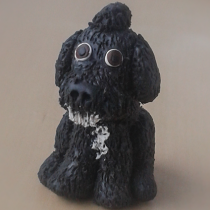 "Dog Sculpture Commission - 1.5"" Tall"