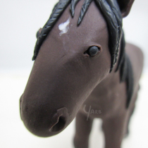 "Horse Sculpture Commission - 10cm / 4"" Tall"