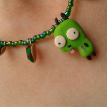 Gir Taco Necklace