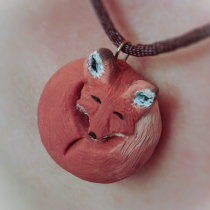 Red Fox Pendant