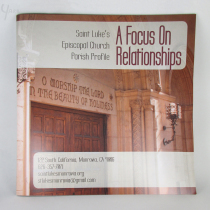 Church Profile Booklet Cover