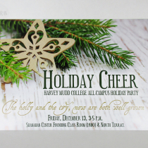 Holiday Save the Date Card