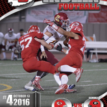 JBHS 2016 Football Book Cover