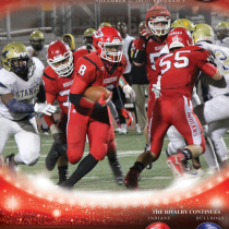 JBHS 2017 Football Book Cover