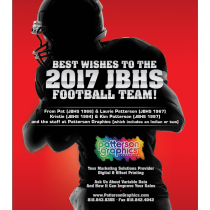 JBHS 2017 Football Book Ad